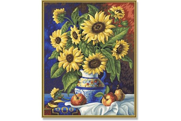 Schipper Still Life with Sunflowers