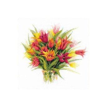 Riolis Tulips in a Vase