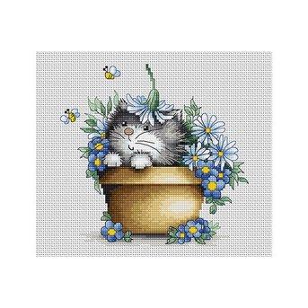 Luca-S Kitten in Flowers