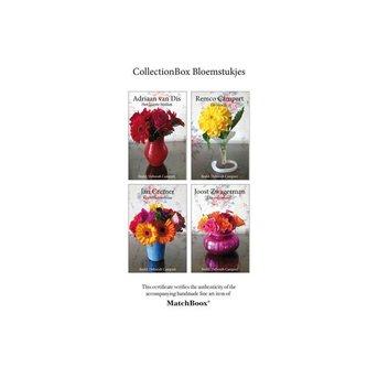 Matchboox Flower arrangements - Collection Box