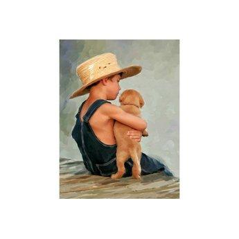 SunsOut Ein Junge und sein Hund