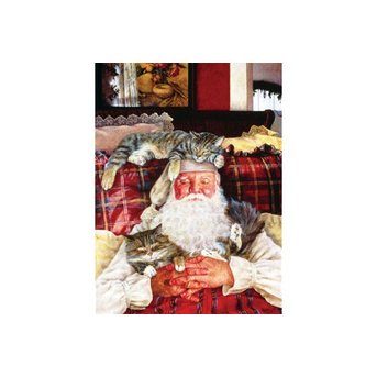 SunsOut Santa's Cat Nap