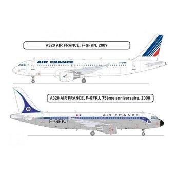 Heller Airbus A320 Air France