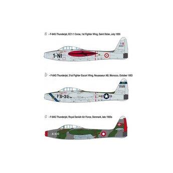 Heller F-84-G Thunderjet