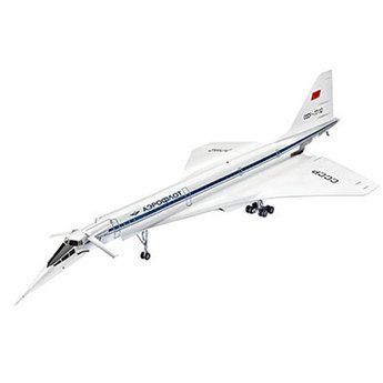Revell Supersonic Passenger Aircraft Tupolev Tu-144D
