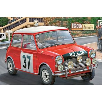 Revell Mini Cooper Winner Rally Monte Carlo 1964