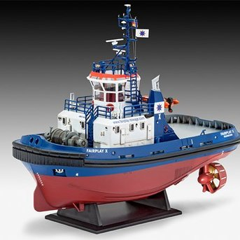 Revell Harbour Tug Boat Fairplay I, III, X