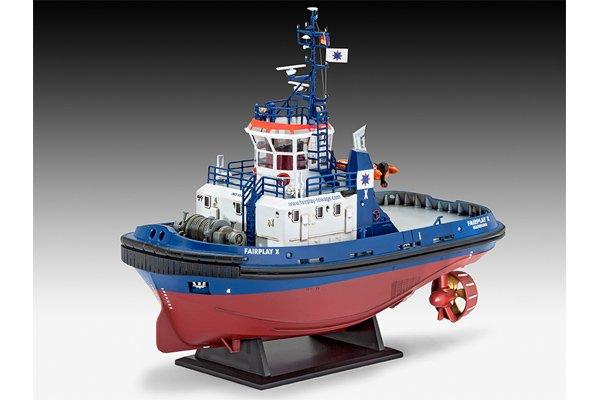 Revell Harbour Tug Boat Fairplay I, III, X