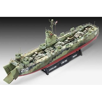 Revell US-Marine-Landungs-Schiff Medium (früh)