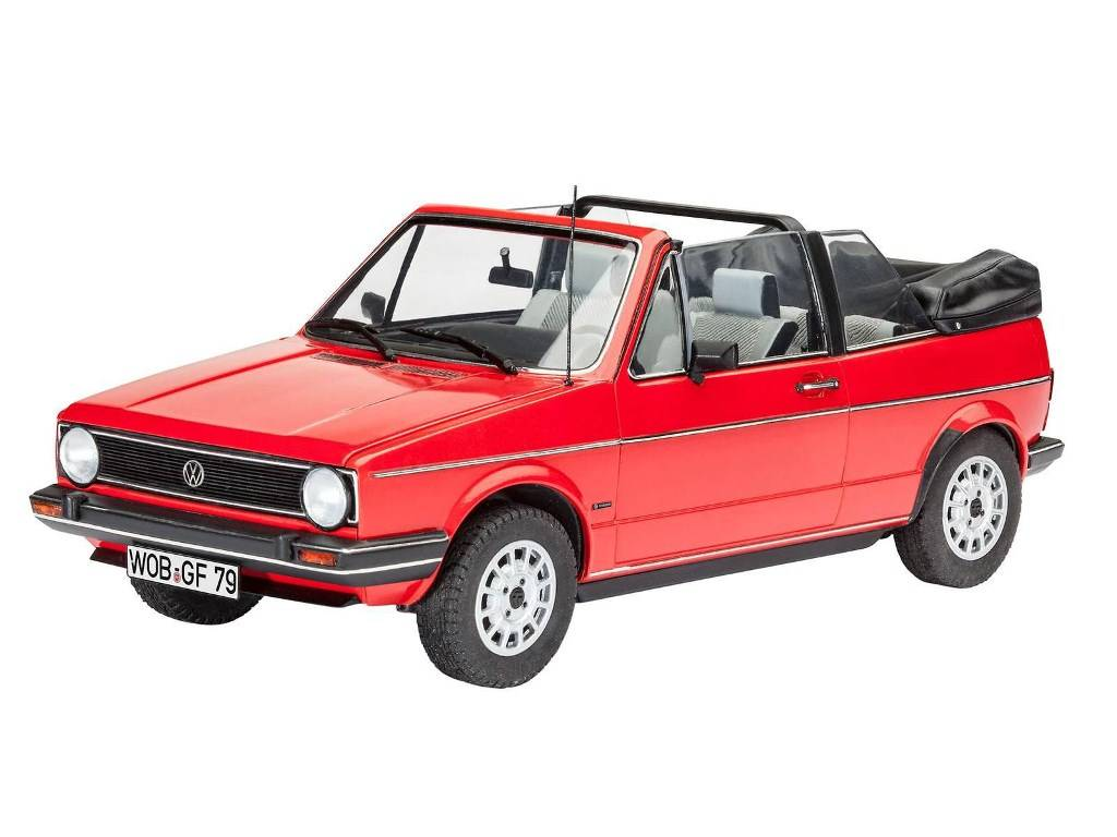 revell vw golf 1 cabriolet portecenter. Black Bedroom Furniture Sets. Home Design Ideas