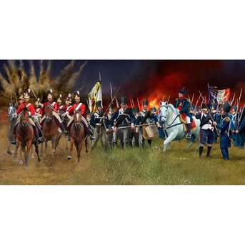 Revell Battle of Waterloo in 1815