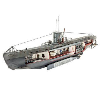 Revell Deutsch Submarine U-47 mit Innen