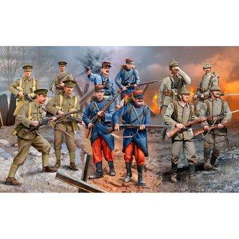 Revell WWI Infantry (deutsch / britischen / Französisch 1914)