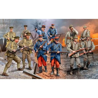 Revell WWI Infantry (German / British / French 1914)