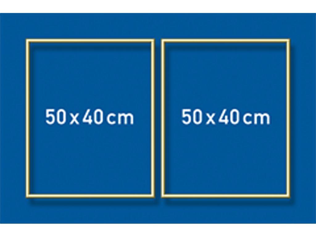 Schipper Aluminium lijst - 50 x 80 cm (diptychon)