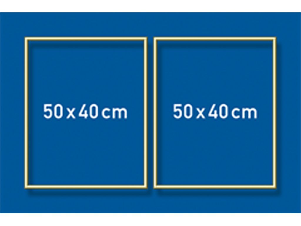 Schipper Aluminiumrahmen - 50 x 80 cm (Diptychon)