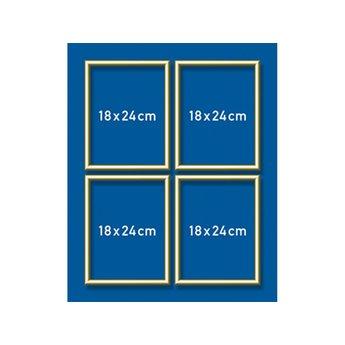 Schipper Aluminium lijst - 18 x 24 cm (quattro)