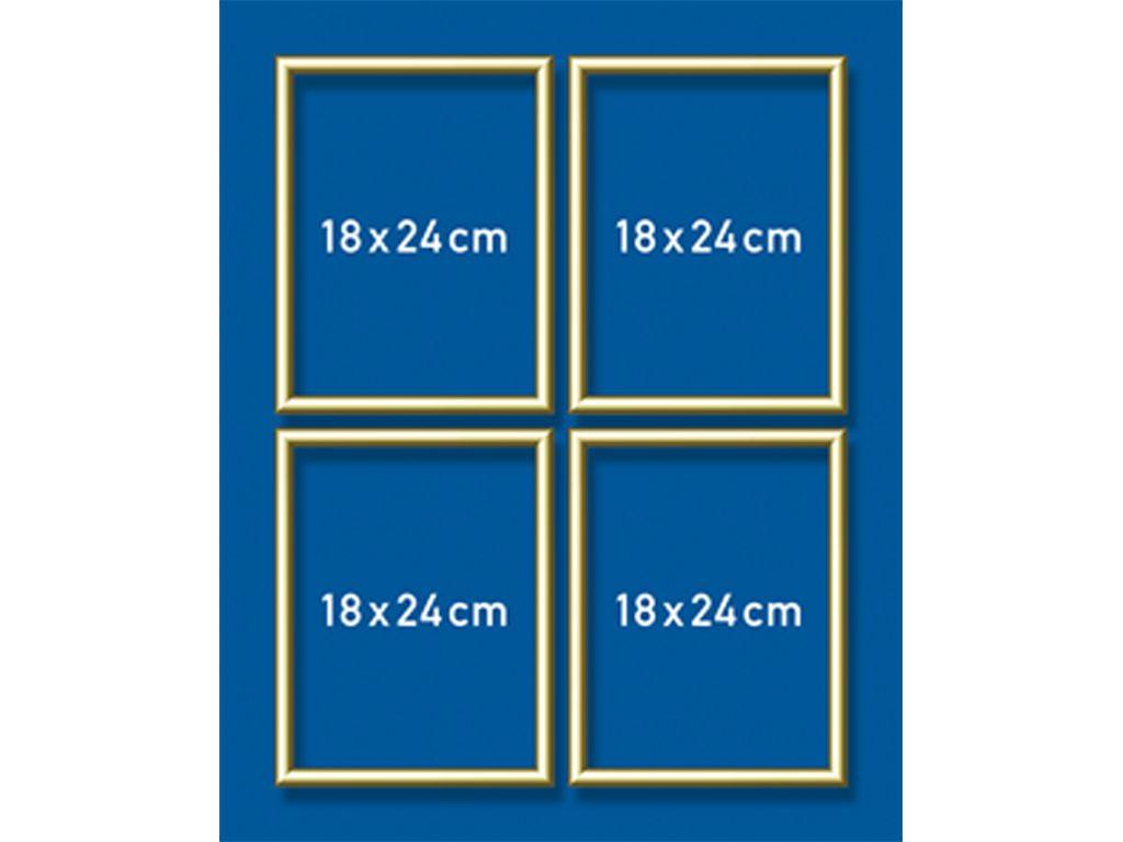 Schipper Aluminium lijst - 18 x 24 cm (quattro) Goud