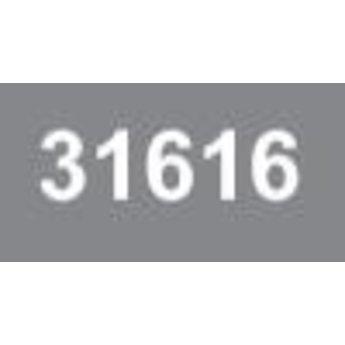 Ministeck 616 - Donker grijs