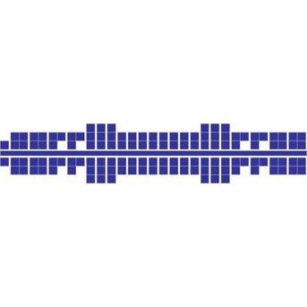 Ministeck 632 - Metallic blauw