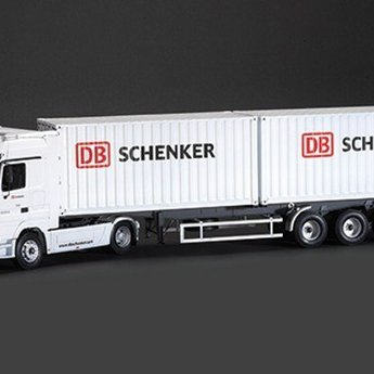 "Italeri Mercedes-Benz Actros with 2 x 20 ""Container Trailer DB Schenker"