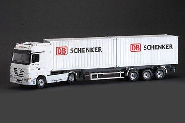 """Italeri Mercedes-Benz Actros mit 2 x 20 """"Container Trailer DB Schenker"""