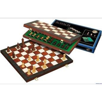 Philos Chess - Schach Falten Cassette Fischer