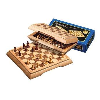 Philos Chess - Mini Travel Chess Cassette - Square
