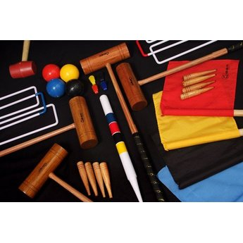 Übergames Pro Croquet Set (4 persons)