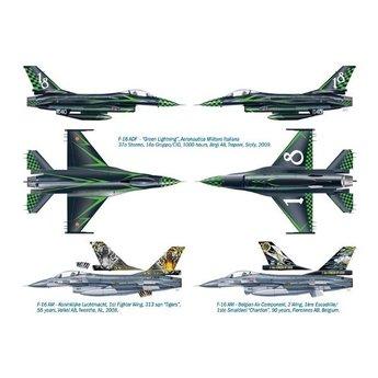 Italeri Lockheed Martin F-16 ADF/AM Special Colors