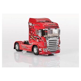 Italeri Scania R560 Highline R8 Red Griffin