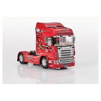Italeri Scania R560 R8 Highline Red Griffin