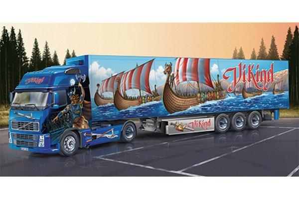 Italeri Volvo FH16 XL Viking with Reefer Trailer