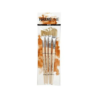 4 Varnish Brushes