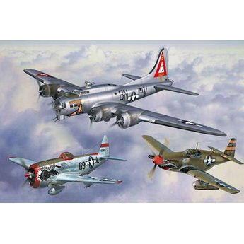 Revell US Legends: 8th Air Force - Gift Set