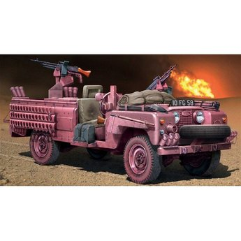 Italeri S.A.S. Recon Vehicle Pink Panther