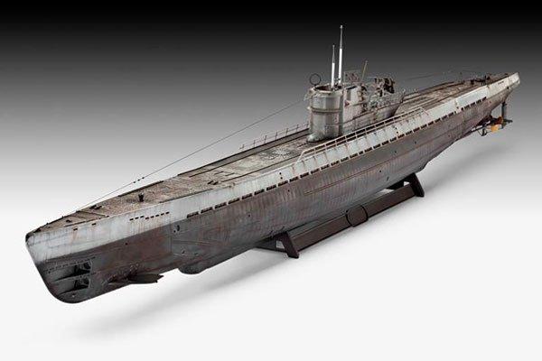 Revell German Submarine Type IX C (U 505 late)