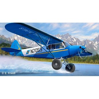 Revell Piper PA-18 with Bushwheels