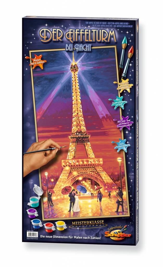 Schipper The Eiffel Tower at Night