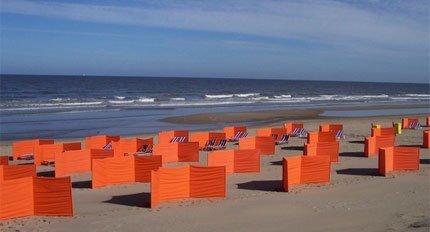 Windschermen en Strand