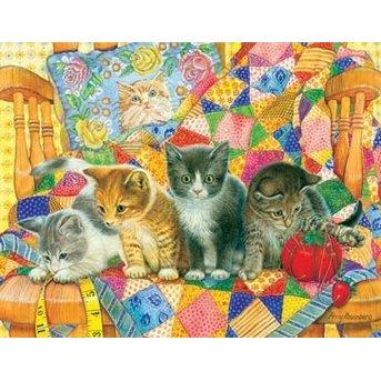 SunsOut Rocking Kittens