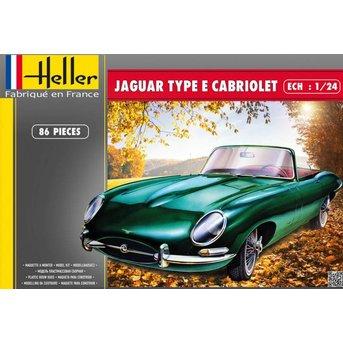Heller Jaguar Type E Cabriolet