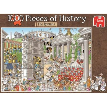 Jumbo Pieces of History - The Romans