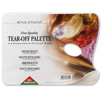 Painter palette - tear
