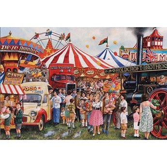 Gibsons Candyfloss & Carousels