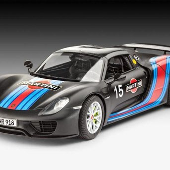 Revell Porsche 918 Spyder (Martini Racing Design)