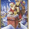 Schipper De Kerstman op de Schoorsteen