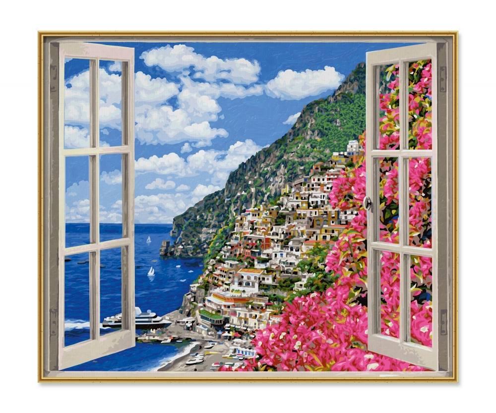 Schipper Positano an der Amalfiküste