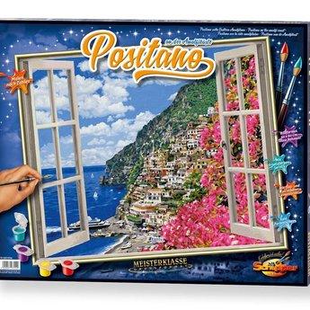 Schipper Positano aan de Amalfikust