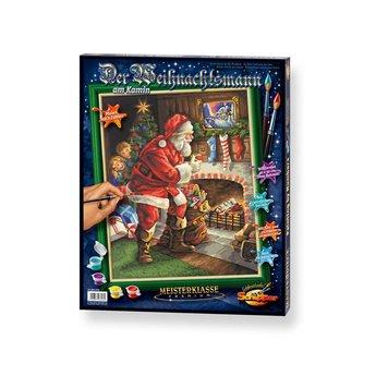 Schipper Santa Claus at the Chimney